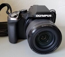 Olympus Stylus SP-100 SP-100EE 16.0 MP Digital Camera w/ 50X Optical Zoom *VG*