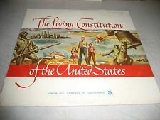 THE LIVING CONSTITUTION OF THE UNITED STATES LP NM Kaydan KR-1001 1961