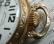 21 Jewel 6 Adj. Pocket Watch Vintage 1945 Hamilton Railroad Railway Special 992B