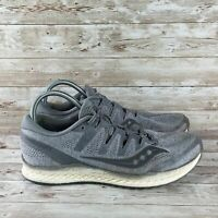 Saucony Freedom ISO 2 Mens Size 11 Gray White Everun Athletic Running Shoes