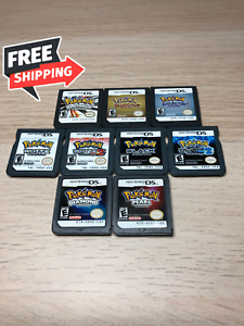9 Pokemon DS Game Bundle! Brand New! Card Only!