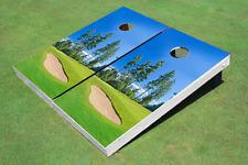 Golf Course Bunker Custom Cornhole Board