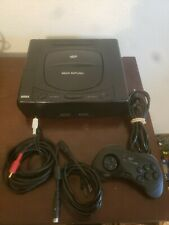 Sega Saturn NTSC-U Model 1 System Console, Controller, Cables S-Video