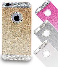 Handyhülle iPhone 6 Schutz Hülle Glitzer Strass Tasche Cover Hard Case Diamant