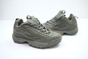 Fila Disruptor Green Shoes   UK7