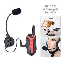 X3Plus Motorcycle Helmet Interphone Bluetooth Intercom Headset Walkie Talkie 3KM