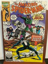 Amazing Spider-Man #280 (1986 Marvel) Sinister Syndicate Silver Sable key CGC IT