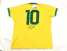 Pele signed Brazil World Cup Jersey PSA/DNA Coa