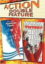 Drama - DOUBLE FEATURE American Flyers/ Victory (DVD, 2005) Bilingual Action NEW