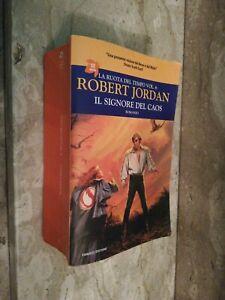 Libro La ruota del tempo Vol 6 IL SIGNORE DEL CAOS Robert Jordan ed Fanucci