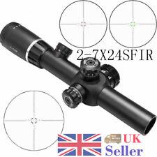 Hunting Riflescope Dot Scope 2-7X24SFIR Rifle Short Scope Mounts