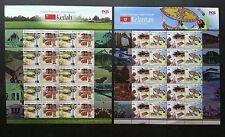 Malaysia Tourist Destination Kedah Kelantan 2016 Kite Tower Museum (sheetlet MNH