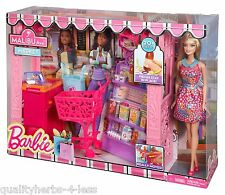 Mattel Barbie Life in The Dreamhouse Malibu Grocery Store & Doll Play-set Toys