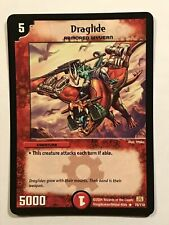 Draglide Duel Masters DM01 Rare card TCG CCG