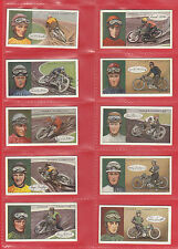 OGDENS  LTD.  -  RARE  SET  OF  25  FAMOUS  DIRT  TRACK  RIDERS  CARDS  -  1929