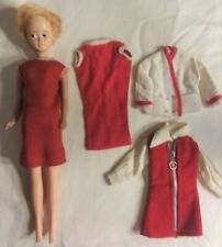 Vintage American Character Mary Makeup Doll Tressy Friend & Clothes Lot 1960s