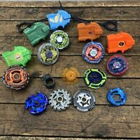 Lot of Beyblade Toys Parts Vintage Beyblades Accessories