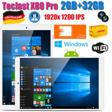 "8"" Teclast X80 Pro 2+32GB Windows 10+Android 5.1 Dual Camera WLAN Tablet PC PAD"