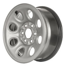 "08069 Refinished 17"" Silver Painted Steel Wheel for Silverado Sierra 1500 Trucks"