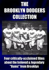 THE BROOKLYN DODGERS COLLECTION- 4 DVDS - Special Edition Directors Cut Baseball