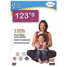 Little Steps: 123's (DVD, 2009, 3-Disc Set)