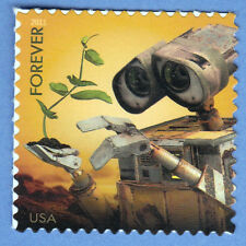 WALL-E ROBOT DISNEY FOREVER STAMP SEND A HELLO MIRACLE PLANT NEW POSTAGE 2011