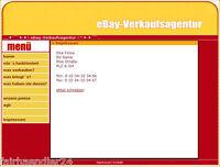 EBAY VERKAUFSAGENTUR WEBPROJEKT Einkaufen WEBSHOP WEBSEITE MASTER RESELLER NEU