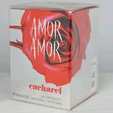 Amor Amor by Cacharel For Women Eau de Toilette Spr3.4 oz/100mL Sealed