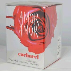 Amor Amor by Cacharel For Women Eau de Toilette Spr3.4 oz/100mL Sealed