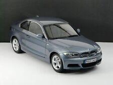 Kyosho # BMW 1er Coupe E82 kristall- blau Neu 1:18 OVP- BMW Dealer