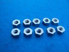 5/16 CYCLE THREAD NUTS 26TPI X 10  BRITISH CLASSIC AJS BSA TRIUMPH ETC