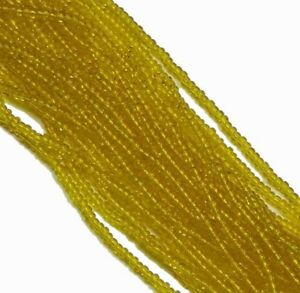 Preciosa Czech Glass 6/0 Seed Bead on Loose Strung 6 String Hank 900 Beads