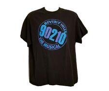 Beverly Hills 90210 The Musical Adult Large Black T-Shirt
