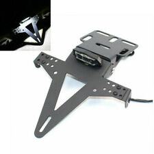 LED-Licht Motorrad Kennzeichenhalter Nummernschildhalter Universal Ca.600 g Neu