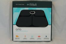 Fitbit Aria FB201B Wi-Fi Black Smart Scale -- New in Box