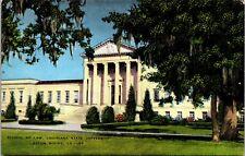 Baton Rouge Louisiana State University School of Law~Linen Postcard~Unposted