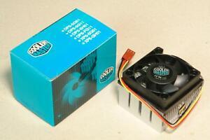Cooler Master Socket A / 370 / 462 SECC2 P2 P3 CPU Cooler Fan / Heatsink .