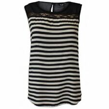Sleeveless Striped Other Tops Plus Size for Women