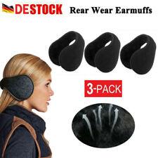 3 Ohrwärmer Winter Ohrenschützer Ohrenwärmer Earmuffs Plüsch Unisex Ohrenklappen