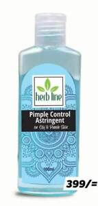Herb Line Skin Soothing Pimple Control Antibacterial Astringent With Tea Tree