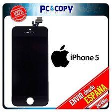 Pantalla LCD IPS RETINA + Tactil completa para iPhone 5 5G  NEGRO CALIDAD A+++