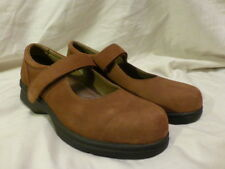 Propét Walker Brown Suede Mary Jane Casual Work Womens Shoes US 7.5 M $85 NEW!
