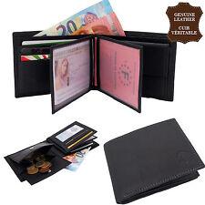 Portefeuille Cuir Véritable Porte monnaie cartes  Homme Femme