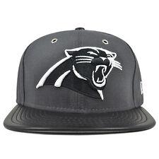 Carolina Panthers New Era METAL HOOK Dark Gray Snapback 9Fifty NFL Hat
