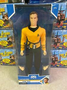 "2021 Mego Sci-Fi Star Trek Classic CAPTAIN KIRK 14"" Inch Action Figure MOC"