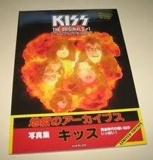 KISS The Originals + 1 book - magazine - Gene Peter Ace Paul Eric Japan SOLD OUT