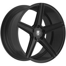 """Fondmetal 189B KV1 20x10.5 5x4.5"""" +35mm Matte Black Wheel Rim 20"""" Inch"""