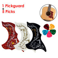 Acoustic Guitar Pickguard Hummingbird Adhesive Scratch Plate Pick Guard