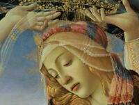 Madonna of the Magnificat Sandro Botticelli Painting Print CANVAS Giclee Repro S