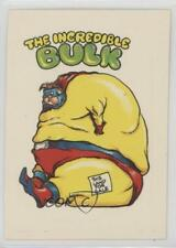 1983 General Mills Zero Heroes #66 The Incredible Bulk Non-Sports Card 0a3